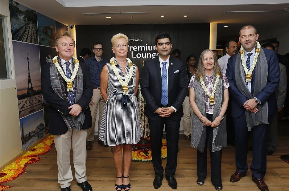 VFS Global unveils new and more spacious Premium Lounge in
